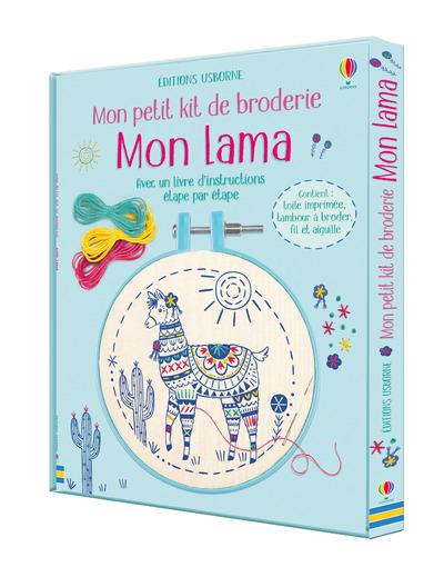 Mon lama - Mon petit kit de broderie