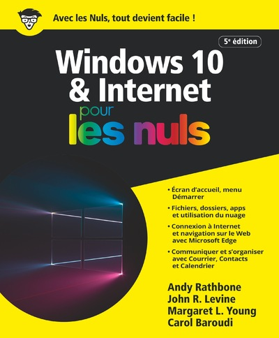 Windows 10 et Internet 5e pour les Nuls, grand format