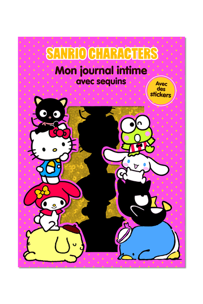 Sanrio Characters - Mon journal intime avec sequins