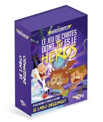 Héroï'cartes - Le Labo déglingo