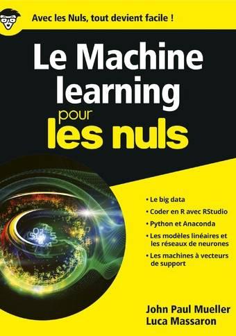 Le Machine learning pour les Nuls, grand format