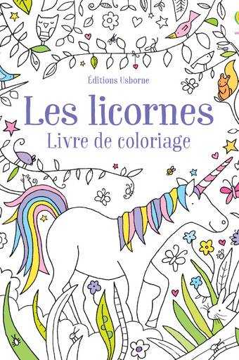 Les licornes - Livre de coloriage