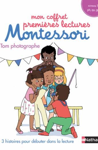 Mon coffret premières lectures Montessori : Tom photographe - Niveau 3