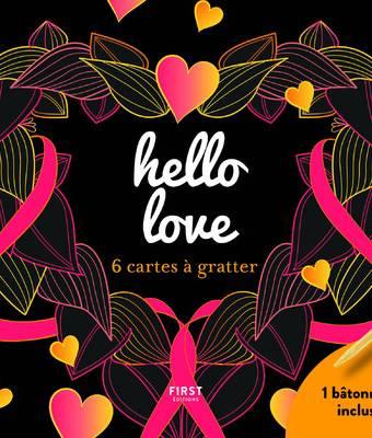 hello love - 6 cartes à gratter