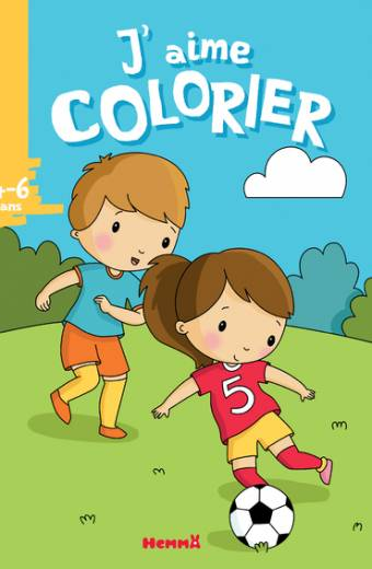 J'aime colorier (4-6 ans) (Football)