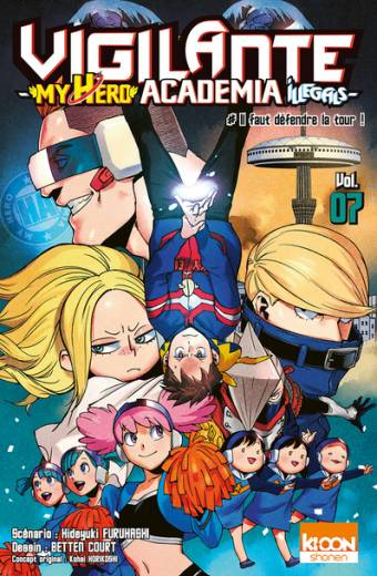 Vigilante - My Hero Academia Illegals T07