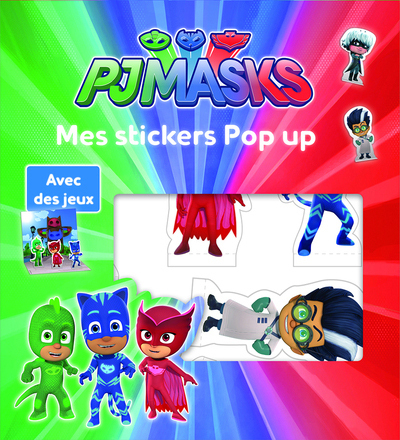 Pjmasks - Mes stickers Pop Up