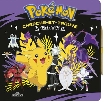 Pokémon - Cherche-et-trouve à gratter - Pikachu et les Ultra-Chimères