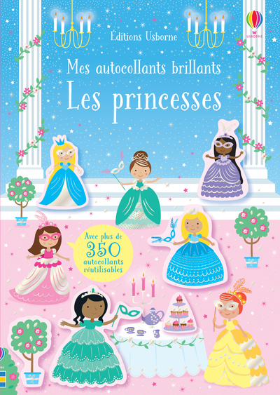 Les princesses - Mes autocollants brillants
