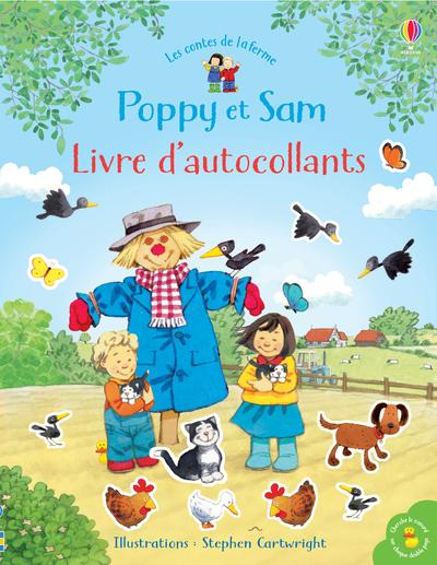 Poppy et Sam - Livre d'autocollants