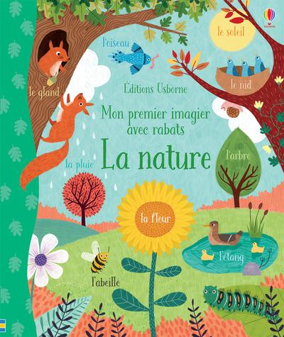 La nature - Mon premier imagier avec rabats
