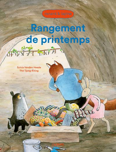 Rangement de printemps - Renard et Lapine - Album - dès 4 ans