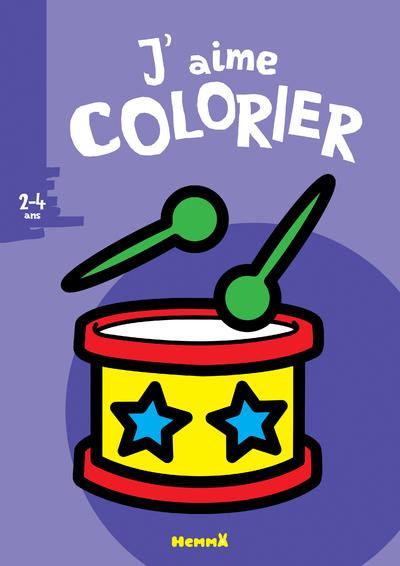 J'aime colorier (2-4 ans) (Tambour)
