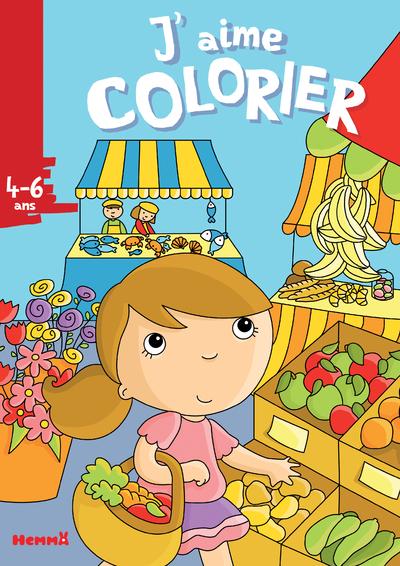 J'aime colorier (4-6 ans) (Marché)