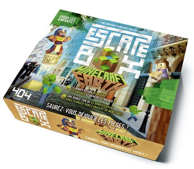 Escape box Minecraft Earth