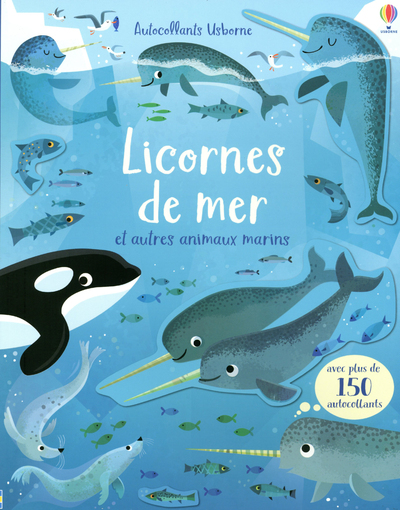 Licornes de mer et autres animaux marins - Premiers autocollants