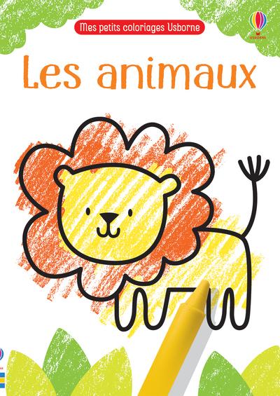 Les animaux - Mes petits coloriages Usborne