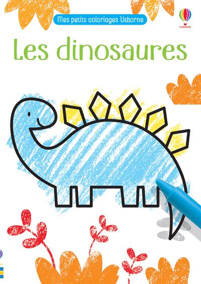 Les dinosaures - Mes petits coloriages Usborne