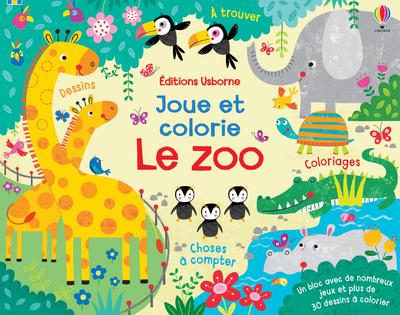 Le zoo - Joue et colorie