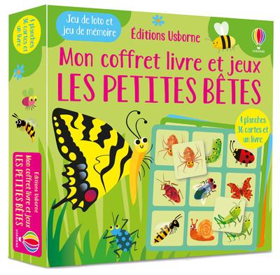Les petites bêtes - Mon coffret livre et jeux