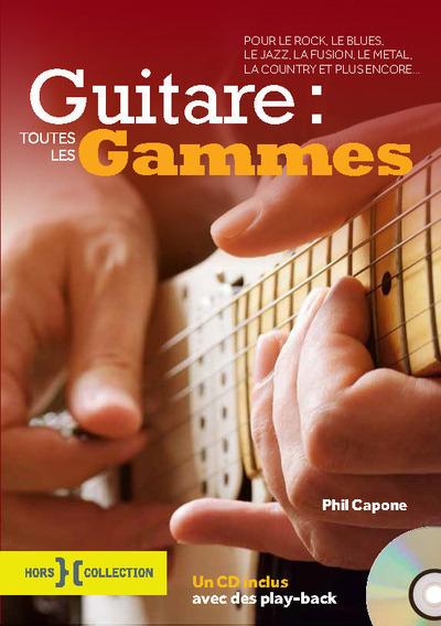 Guitare : toutes les gammes