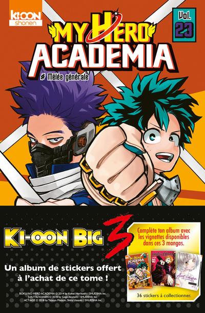 My Hero Academia T23 - OP Big Three