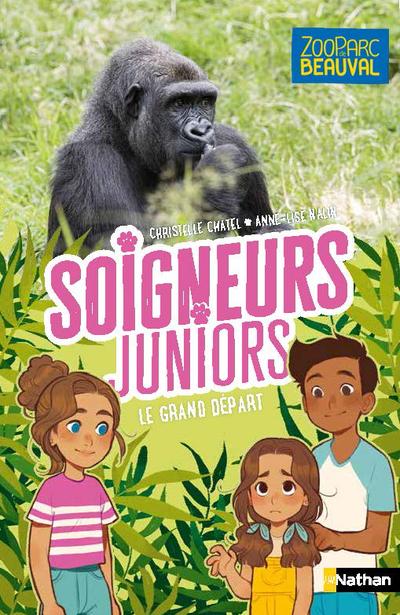 Soigneurs juniors - Le grand départ - tome 2 - dès 8 ans