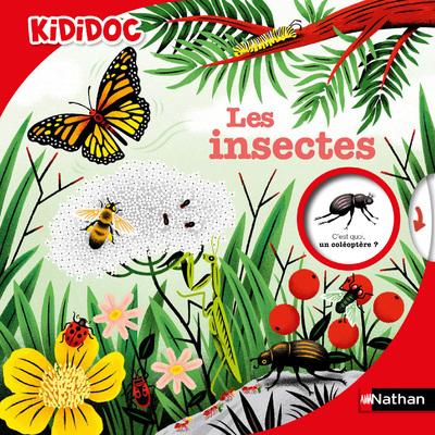 Les Insectes - Kididoc - Livre animé - Dès 6 ans