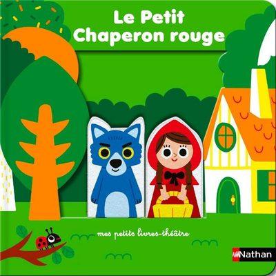 La Petit Chaperon rouge - livre théâtre avec marionnettes à doigts pour donner vie à l'histoire et aux personnages - Dès 18 mois