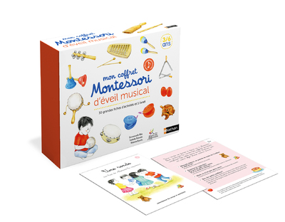 Coffret Montessori d'éveil musical - Découvrir la musique avec la pédagogie Montessori - De 3 à 6 ans