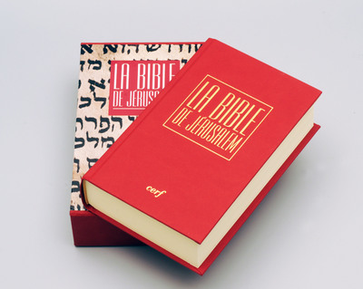 La Bible de Jérusalem - Poche reliée rouge