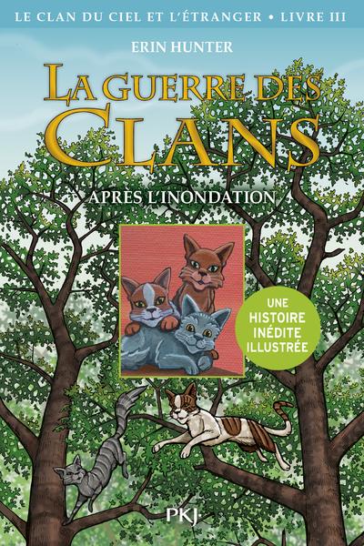 La guerre des Clans illustrée, Cycle IV - tome 3 : Le Clan du Ciel et l'étranger, Après l'inondation