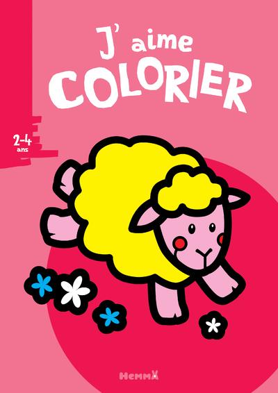J'aime colorier (2-4 ans) (Mouton)