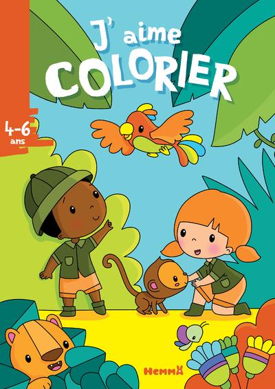 J'aime colorier (4-6 ans) (La jungle)