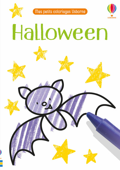 Halloween - Mes petits coloriages Usborne