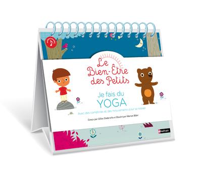 Je fais du yoga - Avec des comptines et des mouvements pour se relaxer - Format chevalet pour un usage plus simple - Dès 4 ans