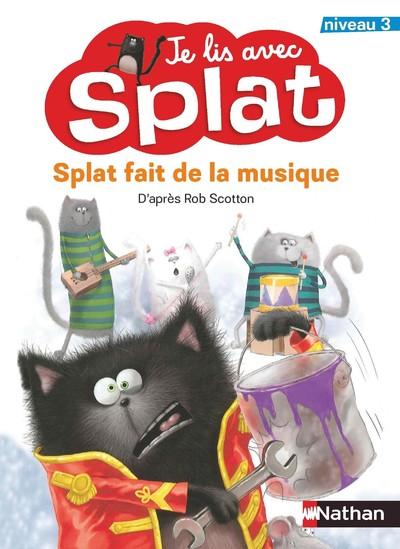 Je lis avec Splat:Splat fait de la musique niveau 3-Canada