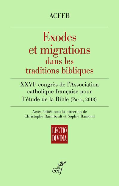 Exodes et migrations dans les traditions bibliques