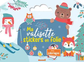 Ma valisette stickers en folie (Noël)