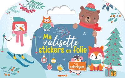 Ma valisette stickers en folie (Noël)