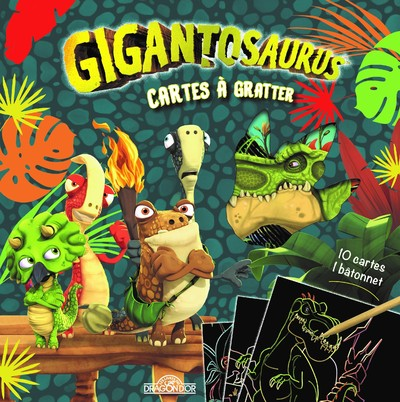Gigantosaurus - Cartes à gratter