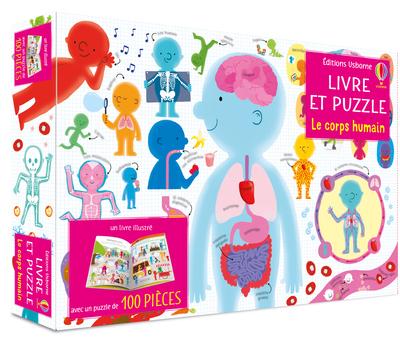 Le corps humain - Coffret Livre et puzzle