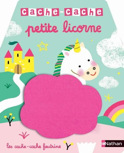 Cache-cache petite licorne - Livre matière - éveil -  Dès 6 mois
