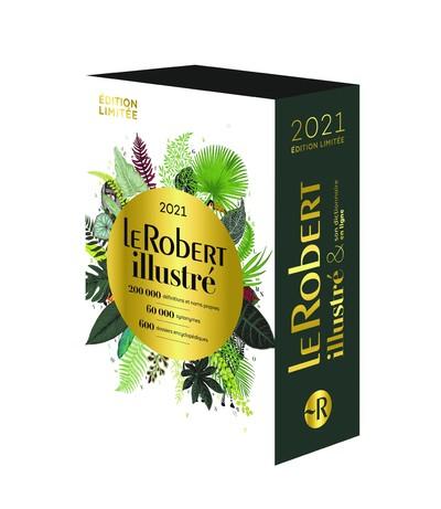 Coffret le Robert Illustré et son dictionnaire en ligne 2021