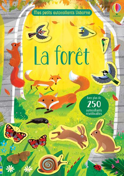La forêt - Mes petits autocollants Usborne