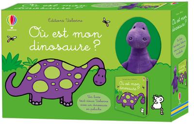 Où est mon dinosaure ? - Coffret tout-doux Usborne