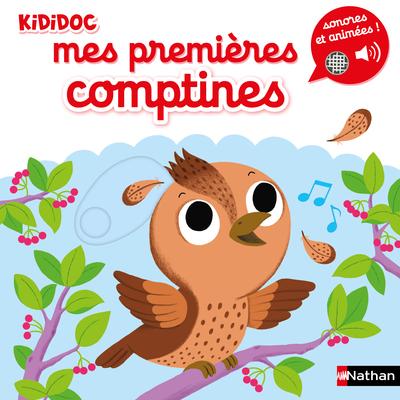 Kididoc - Mes premières comptines sonores et animées - Dès 1 an