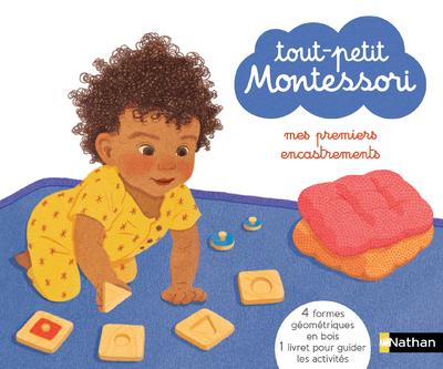 Tout-petit Montessori - mes premiers encastrements - Coffret - Dès 15 mois