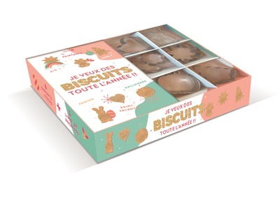 Coffret emporte pièce - Mon année en biscuits