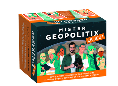 Jeu-Mister Geopolitix - Le jeu : pour développer votre culture gé, vos connaissances en géopolitique et pour animer vos soirées !